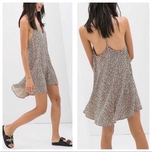 Zara Woman heart print dress